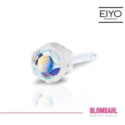 Kolczyk do przekłuwania uszu - rainbow 4 mm marki Blomdahl