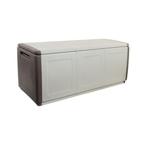Artplast Plastikowy pojemnik z wiekiem, 1380x570x530 mm, beżowy