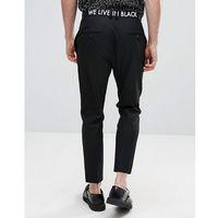 skinny trousers with waistband print - black marki Religion