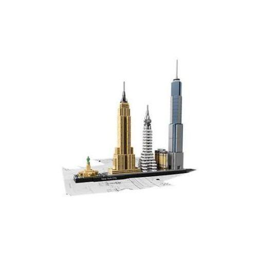 Zestawy Lego Architecture 21028 New York City. Najniższe ceny, najlepsze promocje w sklepach, opinie.