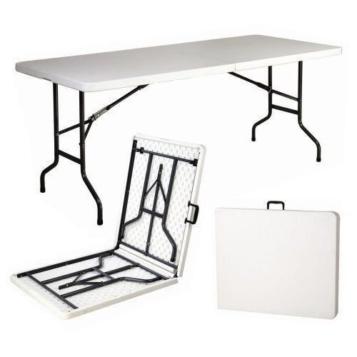 Stół koktajlowy prostokąt 180x76cm składany lux dobrebaseny