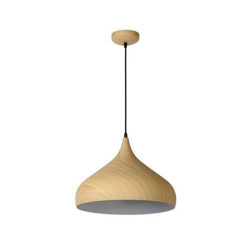 Lucide 76360/01/76 - Lampa wisząca WOODY 1xE27/60W/230V 42 cm
