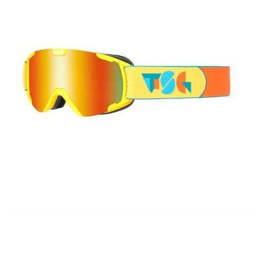 Tsg Gogle snowboardowe - goggle expect mini constructed red chrome (342) rozmiar: os