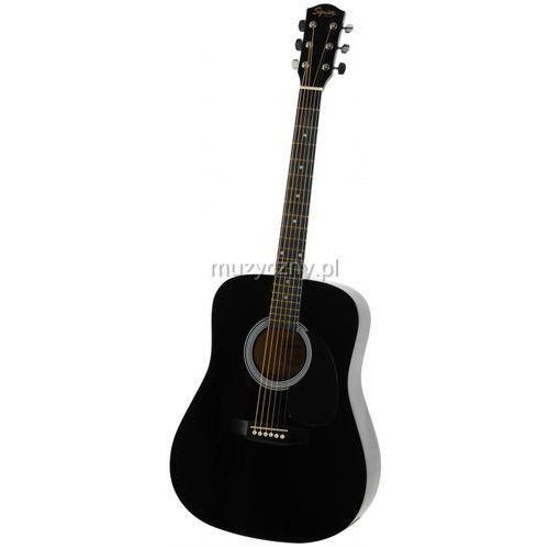 Fender Squier SA105 BK gitara akustyczna z kategorii Gitary akustyczne i elektroakustyczne