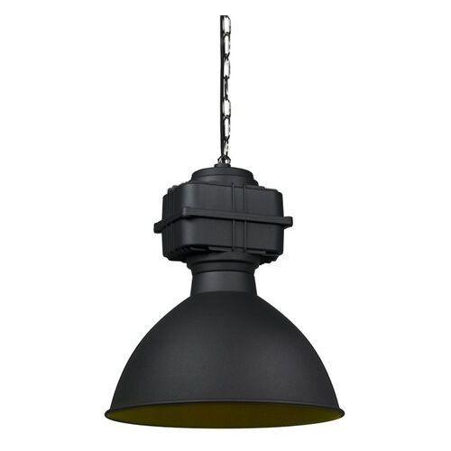 Qazqa Przemysłowa lampa wisząca mała matowa czarna - sicko