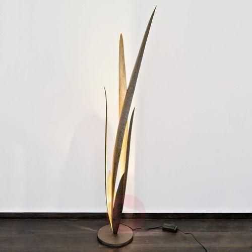 Holländer PALUSTRE lampa podłogowa Czarny, Brązowy, Złoty, 1-punktowy - Klasyczny - Obszar wewnętrzny - PALUSTRE - Czas dostawy: od 2-3 tygodni