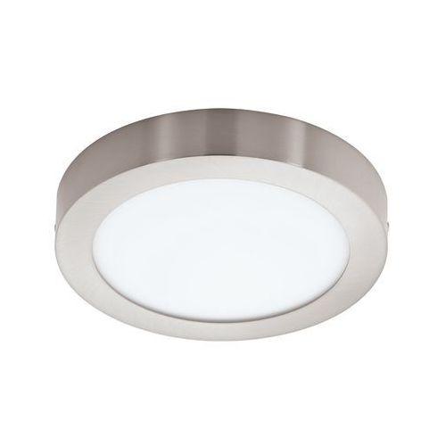 Plafon LAMPA sufitowa FUEVA 1 94527 Eglo natynkowa OPRAWA LED 22W okrągła nikiel satynowany z kategorii Plafony