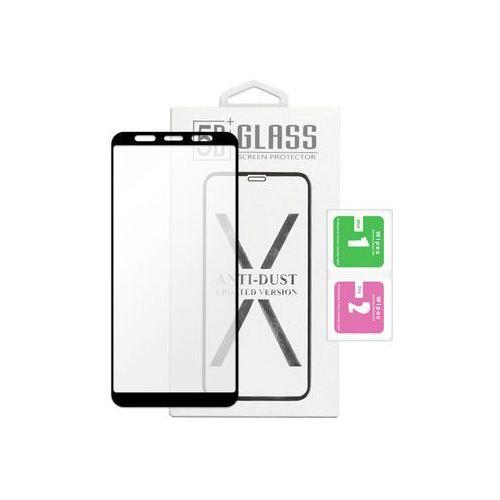 Etuo.pl - szkło Samsung galaxy a7 (2018) - szkło hartowane 5d - czarne