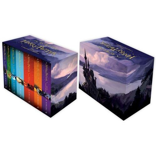 Harry Potter Boxed Set: The Complete Collection (Childrens Paperback), J.K. Rowling