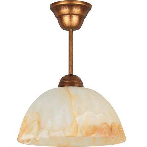Lampa wisząca (klosz ambra) 066/Z B+M* - Lampex - Sprawdź kupon rabatowy w koszyku, 066/Z BM