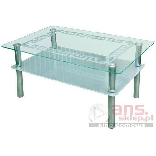Szkłomal PROSTOKĄT GRECKI - Ława szklana, 110x70 cm