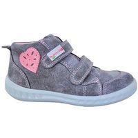 Protetika buty dziewczęce amelia 28, szary