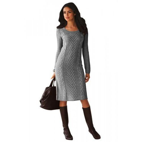 Sukienka sweterkowa