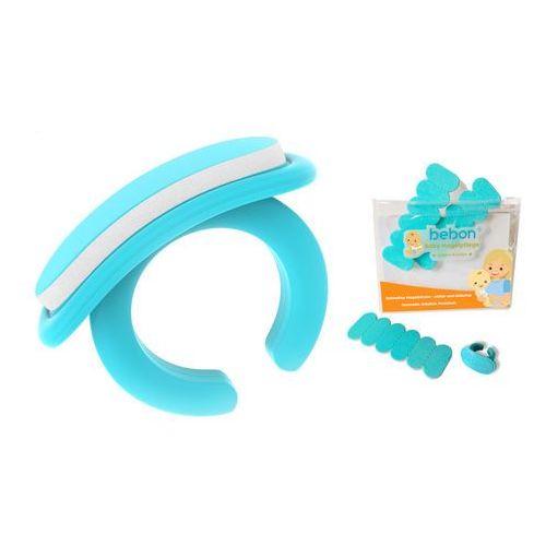 Bebon Pilnik do paznokci dla dzieci 0+ niemowląt 18szt - 18 wymiennych wkładów + 1 uchwyt-pierścień