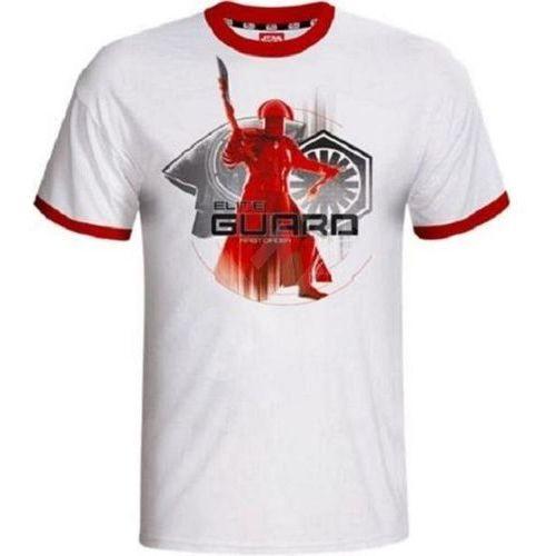 Koszulka GOOD LOOT Star Wars Elite Guard (rozmiar XL) Biało-czerwony + Zamów z DOSTAWĄ W PONIEDZIAŁEK!