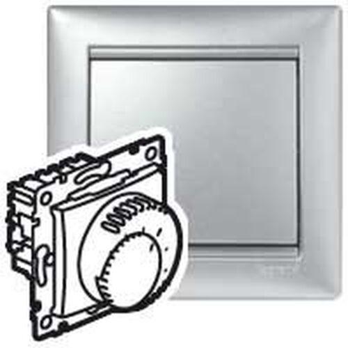Regulator temperatury Legrand Valena 770291 do ogrzewania podłogowego aluminium (3245067702918)