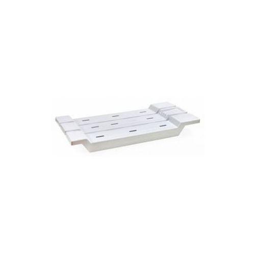 Berossi Ławeczka kąpielowa siedzisko na wannę - biała (4811244016780)