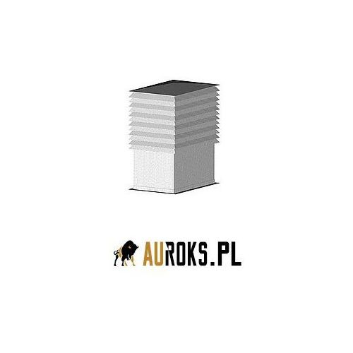 Darco Czerpnia dachowa typ b wg bn-70/8865-33 bl. ocynkowana 400x400 mm