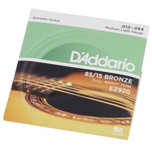 D′Addario EZ 920 struny do gitary akustycznej 12-54, D0B6-6674A