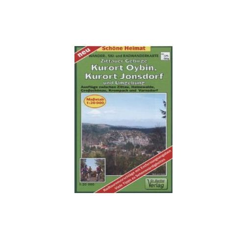 Doktor Barthel Karte Zittauer Gebirge, Kurort Oybin, Kurort Jonsdorf und Umgebung