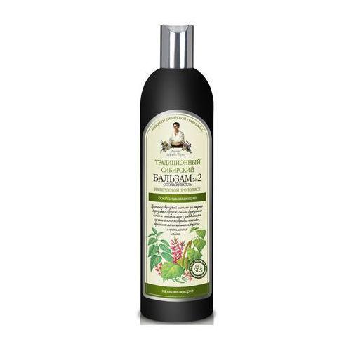 Pierwoje reszenie, rosja Babuszka agafia balsam do włosów nr 2 - propolis brzozowy 600ml