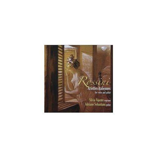 Brilliant classics Silvia vajente, adriano sebastiani - rossini: ariettes italiannes for voice and guitar