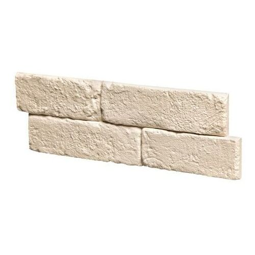 Płytka dekoracyjna gipsowa Stegu Brickal z fugą kremowa 0,4 m2, ST-PL-BRI-001-1