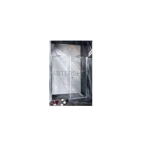Sanotechnik Brava drzwi prysznicowe do wnęki skrzydłowe 160x195 cm md70mf100