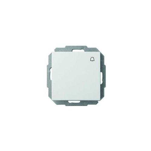 Przycisk dzwonek Elektro-Plast Sentia biały, 1414-10