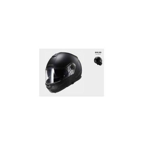 Kask motocyklowy szczękowy ff325 strobe solid - kolor czarny matt marki Ls2