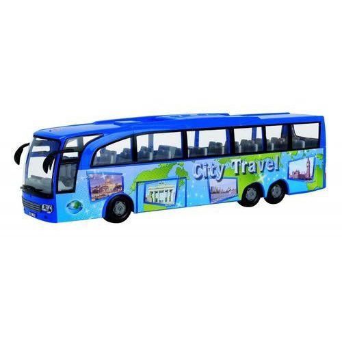 Autobus turystyczny niebieski marki Dickie