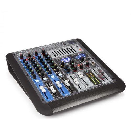 pdm-s604 6-kanałowy mikser muzyczny dsp/mp3 port usb odbiornik bt marki Power dynamics