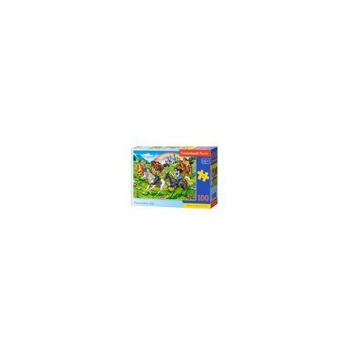 Castor Puzzle 100 elementów księżniczki na koniach - poznań, hiperszybka wysyłka od 5,99zł!