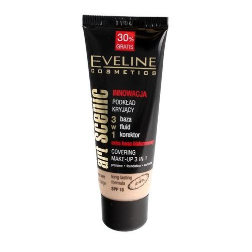 Eveline kolorowka Eveline art scenic podkład kryjący 3w1 nr 21 light beige 40ml