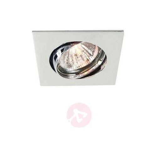 Deko-light Dyskretna lampa sufitowa wewnętrzna, chrom, 6,8 cm