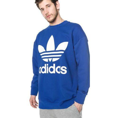 adidas Originals Trefoil Bluza Niebieski L, 1 rozmiar