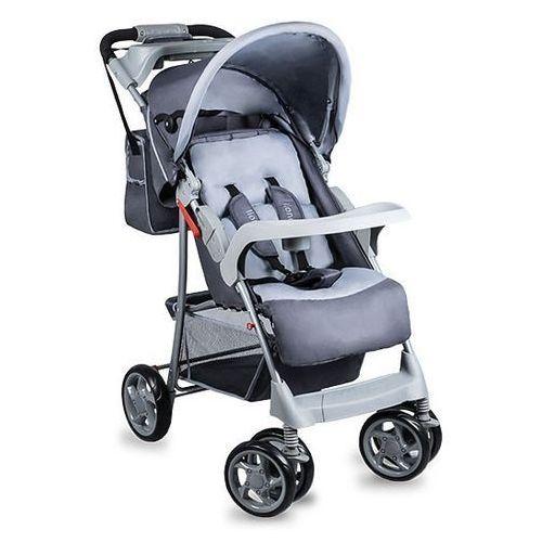 Wózek spacerowy emma plus grey - darmowa dostawa!!! marki Lionelo