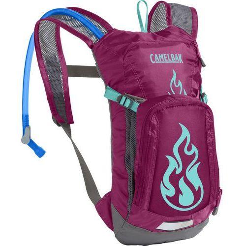 mini m.u.l.e. plecak dzieci różowy 2018 plecaki rowerowe marki Camelbak