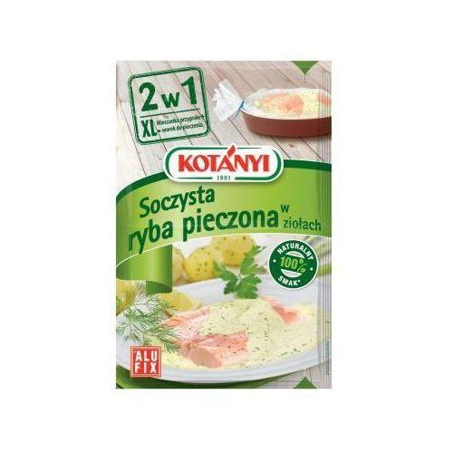 Mieszanka przypraw z workiem do pieczenia 2w1 Soczysta ryba pieczona w ziołach 25 g Kotányi (5901032014155)