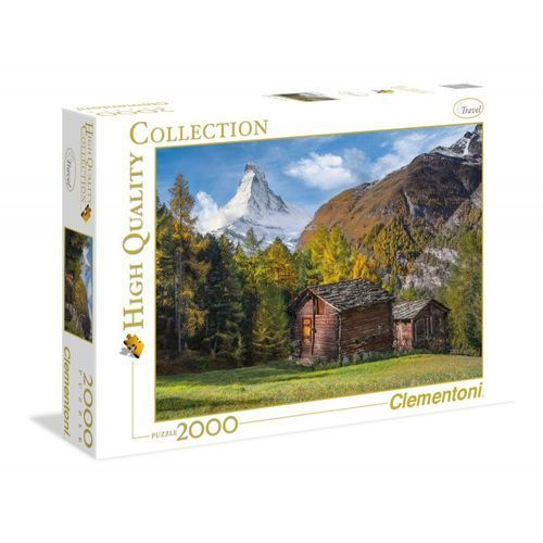 Clementoni Puzzle high quality collection fascination with matterhorn 2000 (8005125325610)