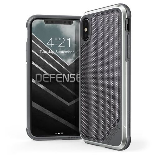 X-Doria Defense Lux Etui Aluminiowe iPhone X/10 (Ballistic Nylon)