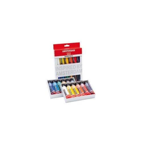 Talens Amsterdam Standard Farby akrylowe 12x20ml (8712079329327)