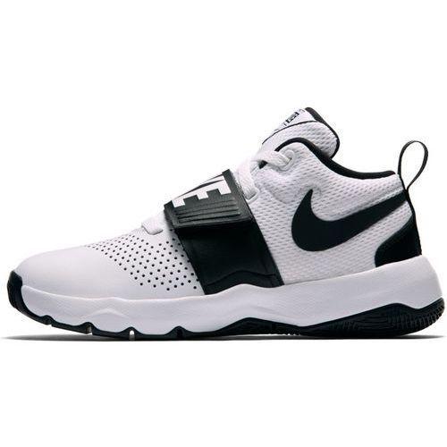 Buty  team hustle d 8 gs - 881941-100 - white/black, Nike