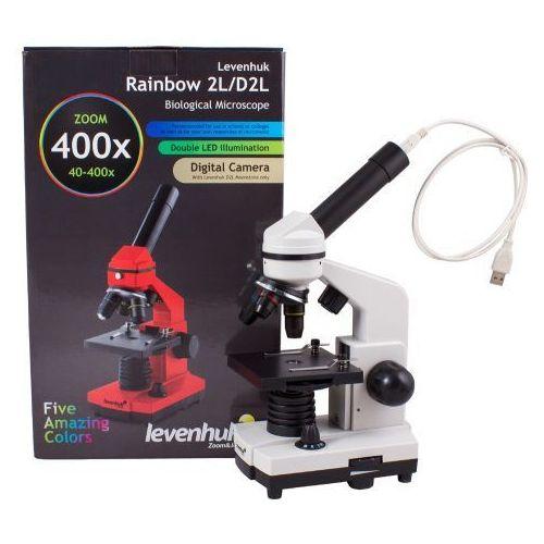 Levenhuk Mikroskop cyfrowy  rainbow d2l 0.3m, moonstone\kamień księżycowy