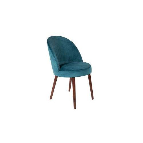Dutchbone krzesło barbara niebieskie 1100337