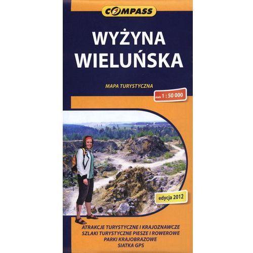 Wyżyna Wieluńska mapa turystyczna 1:50 000 (2 str.)