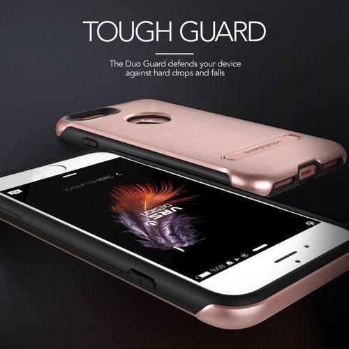Etui VRS DESIGN Duo Guard do iPhone 7 Złoty Róż, V904618