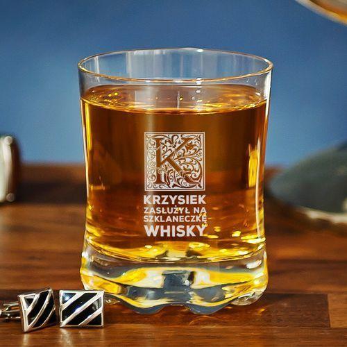 Mygiftdna Szklaneczka whisky - szklanka do whisky - 4 sztuki