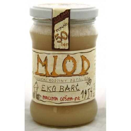 Eko barć (patalas) Miód malina leśna bio 380g