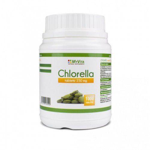 Chlorella 250 mg 1000 tabl. (Myvita) - sprawdź w wybranym sklepie
